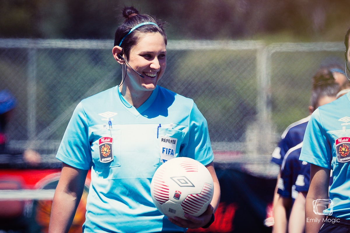 Kate Jacewicz - W-League (Photo by Emily Mogic)