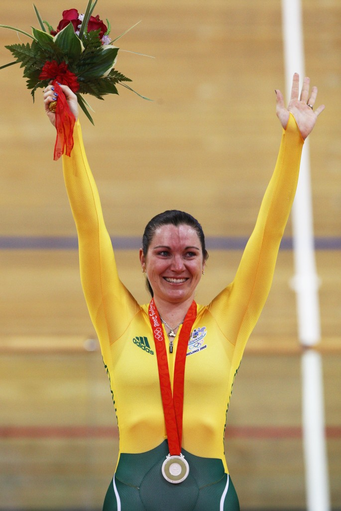Anna Meares Bejing 2008 - GettyImages