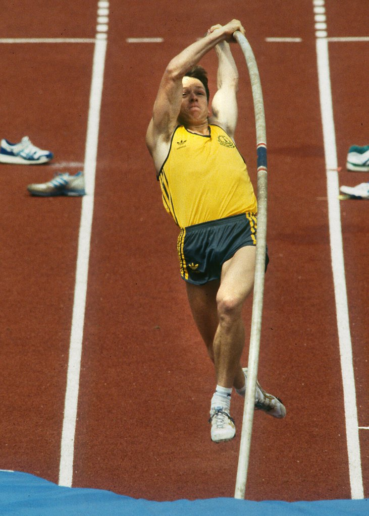 Simon Arkell - 1990 Commonwealth Games - Getty Images
